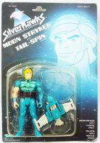 Silverhawks - Moon Stryker & Tail-Spin (Blue card)