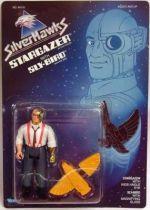 Silverhawks - Stargazer & Sly-Bird (Blue card)
