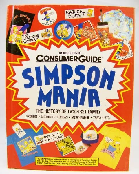 Simpson Mania: The History of TV\'s First Family (Shane Tritsch - Steve Dale) 1990