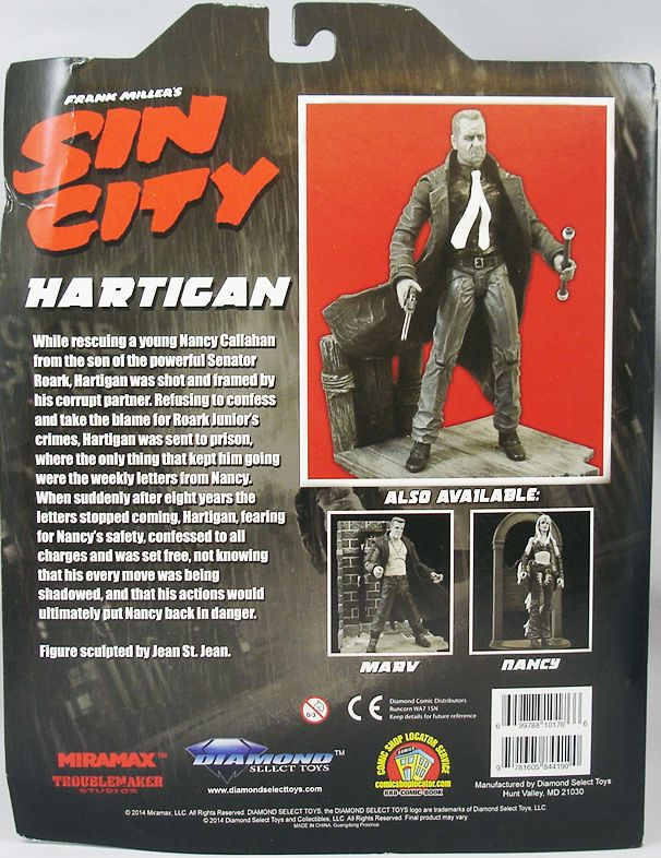 Sin City - Hartigan Bruce Willis - Diamond Select (1)