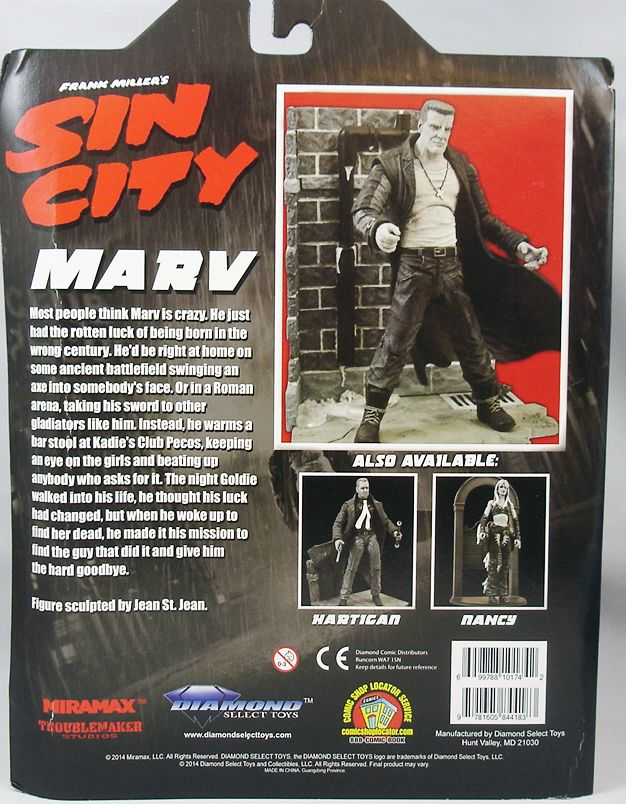 Sin City - Marv Mickey Rourke - Diamond Select (1)