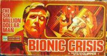 Six Million Dollar Man - Clipper Board Game - Bionic Crisis