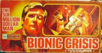 Six Million Dollar Man - Clipper Board Game - Bionic Crisis