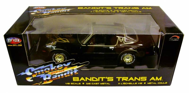 Smokey and the Bandit - Bandit\'s Trans Am - 1:18° ERTL/ Joyride Diecast
