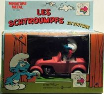 Smurfs - Die-Cast vehicule Esci - Smurf Pink Hot Road (Mint in Box)