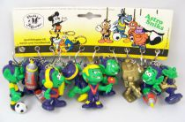 Sniks - Bully Series #2 1980 - Store Display of 10 Keychains/Figures