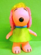 Snoopy - 6inches Vinyl Figure - Belle with green dress (rose ears)