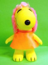 Snoopy - 6inches Vinyl Figure - Belle with orange dress (rose ears)