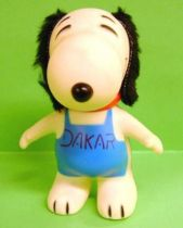 Snoopy - 6inches Vinyl Figure - Snoopy with \'\'Dakar\'\' T-shirt