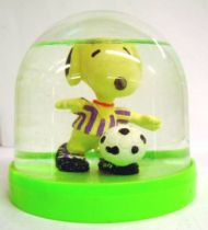 Snoopy - Comic Spain Snow Dome - Snoopy Soccer Player (White & Mallow T-shirt)