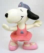 Snoopy - Figurine PVC Schleich - Belle ballerine