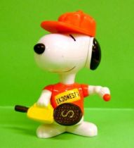 Snoopy - McDonald Premium Action Figure - Snoopy Indonesia