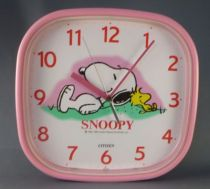 snoopy___merchandising___horloge_murale_citizen_japon_snoopy___woodstock_1