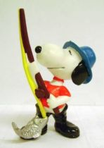 Snoopy - Schleich PVC Figure - Angler Snoopy