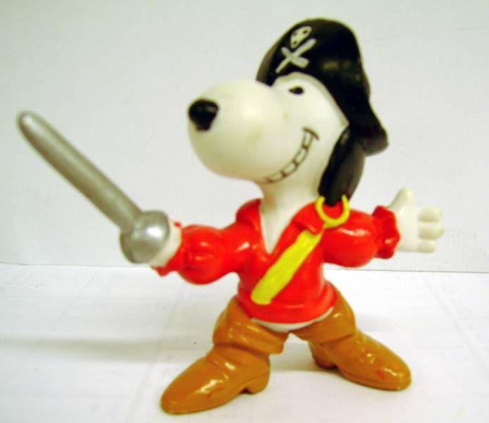 Snoopy - Schleich PVC Figure - Pirat Snoopy