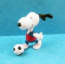 Snoopy - Figurine PVC Schleich - Snoopy Footballeur 01