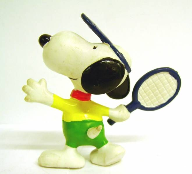 Snoopy - Schleich PVC Figure - Tennis Player Snoopy