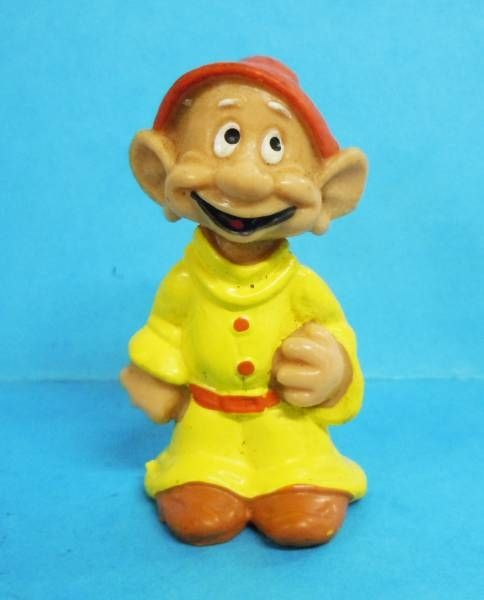 Snow White - Bully 1982 PVC figure - the dwarf Dopey