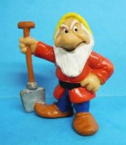 Snow White - Bully 1982 PVC figure - the dwarf Grumpy