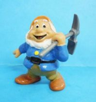Snow White - Bully 1982 PVC figure - the dwarf Happy