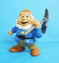 Snow White - Bully 1982 PVC figure - the dwarf Happy