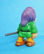 Snow White - Bully 1982 PVC figure - the dwarf Sleepy