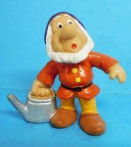 Snow White - Bully 1982 PVC figure - the dwarf Sneezy