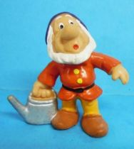 Snow White - Bully 1982 PVC figure - the dwarf Sneezy