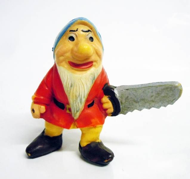 Snow White - Jim figure - The dwarf Grumpy