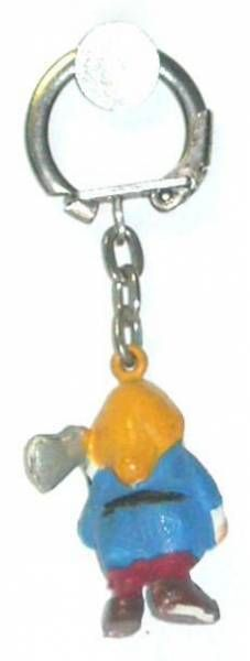 Snow White - Jim keychain Mini Figure - The dwarf Grumpy
