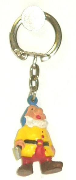Snow White - Jim keychain Mini Figure - The dwarf Sneezy