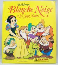 Snow White & the 7 Dwarfs - Panini Stickers collector book 1994