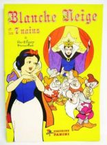 Snow White & the 7 Dwarfs - Panini Stickers collector book