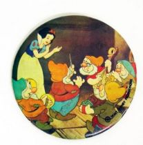 Snow White - Vintage Button - 1978