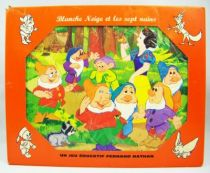 Blanche Neige et les 7 nains - Jeu éducatif Fernand Nathan (Puzzle) 01