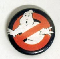 S.O.S. Fantomes (Ghostbusters) - Badge vintage - No Ghost logo