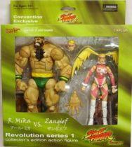 SOTA Toys - Zangief & R. Mika - SDCC \'08 Exclusive