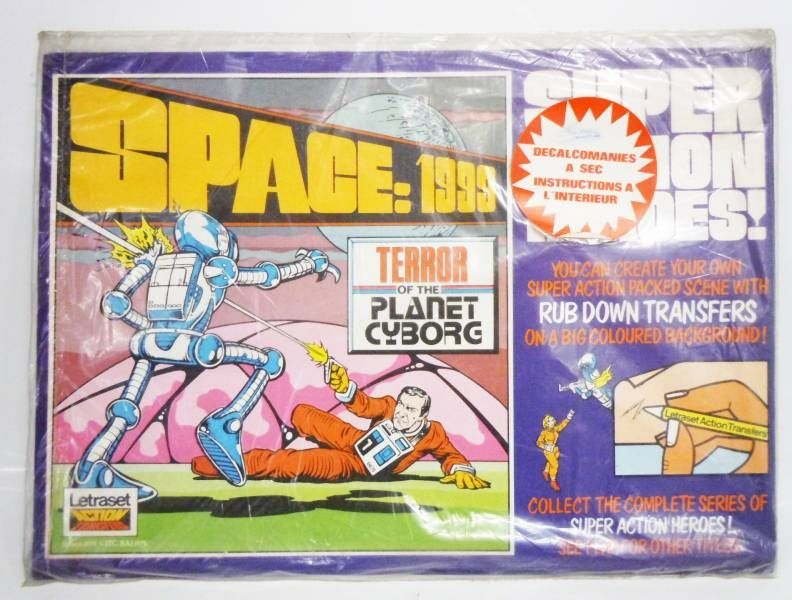 Space 1999 - Letraset - Space 1999 : Terror of the Planet Cyborg (Action Tranfers)