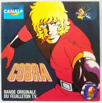 Space Adventure Cobra - Original French TV series Soundtrack - Mini-LP Record - Narcisse X4 RCA Records 1985