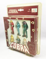 Space Adventures Cobra - AB Toys - 6 PVC figures set