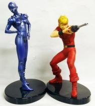 Space Adventures Cobra - Furyu - set of 2 vinyl statues : Cobra & Lady
