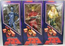 "Space Adventures Cobra - Inspire - 12\"" vinyl figures Cobra, Lady & Jane Royal set"