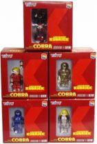 Space Adventures Cobra - Medicom Kubrick - Complete Set of 5 figures