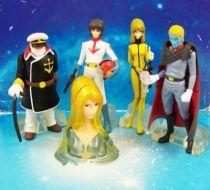 Space Battleship Yamato - Bandai (2004) - Série de 5 Gashapons 01