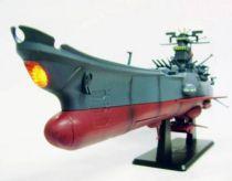 Space Battleship Yamato Super Mechanics (16 inches & Light) + Main Gun Controller Replica (Remote Control with Sounds) - Taito