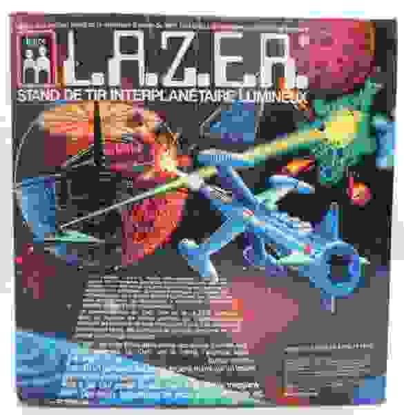 Space Gun - Logix Enterprise Ltd - L.A.Z.E.R. Intergalactic Light Shooting Gallery