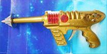 Space Gun - Sparkling Toy - \'\'Space Pilot\'\' Jet Ray Gun