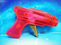 Space Gun - Sparkling Toy - Transparent Gun (Red)