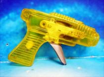 Space Gun - Sparkling Toy - Transparent Gun (Yellow)