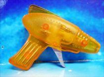 Space Gun - Sparkling Toy - Transparent Ray Gun (Yellow)